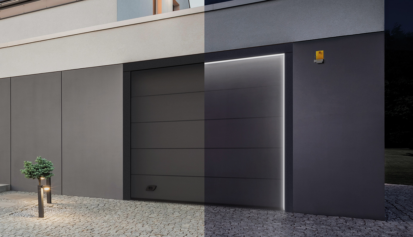 Industrial Sectional Doors and Sectional Garage Doors - CAME GO